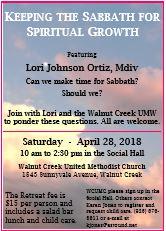 Walnut Creek UMW Retreat Flyer