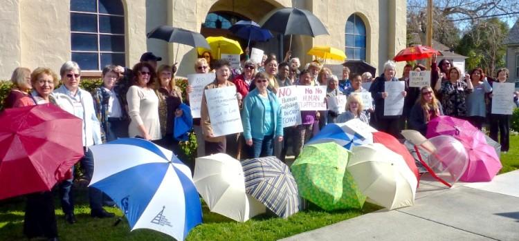 Umbrella Defense by El Camino Real District UMW at Gilroy UMC