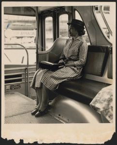 Rosa Parks, from Library of Congress
